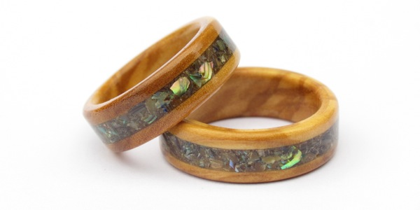 Wooden Rings And 5th Wedding Anniversary Gifts Fifth Anniversary Wooden Rings And Wooden Gifts