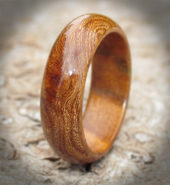 Ancient Elm Wedding Ring