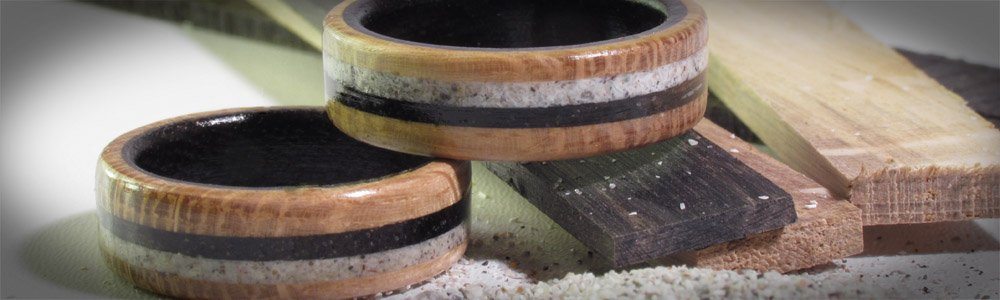 Making Wooden Rings from 2005 - 2018