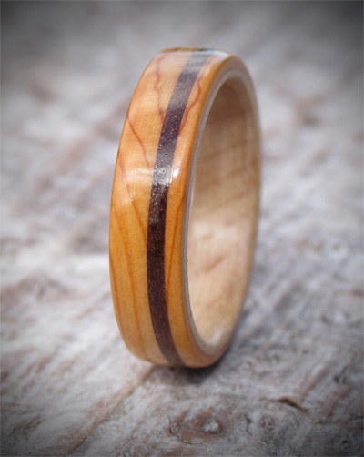 Celtic Wooden Wedding Ring