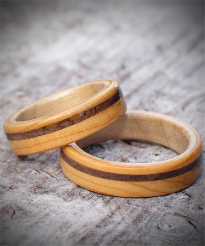 Celtic Wooden Wedding Ring