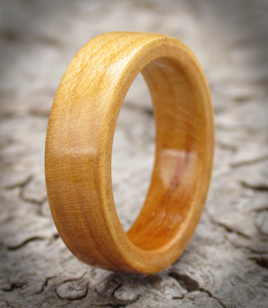 Wild Cherry Wooden Ring