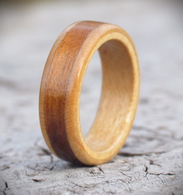 Honey Wood Ring