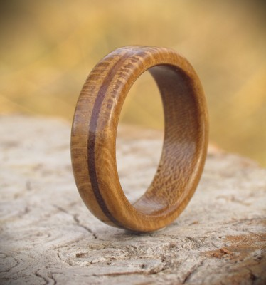 Eco Wooden Ring size X - US size 11 3/4
