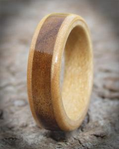 Canadian Maple & English Walnut Ring