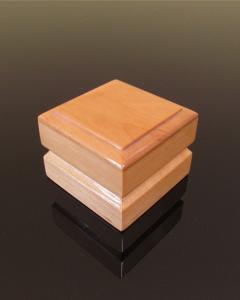 Maple Wooden Ring Box