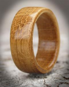Scottish Oak Wooden Ring