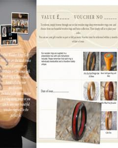 Wooden Rings Gift Voucher