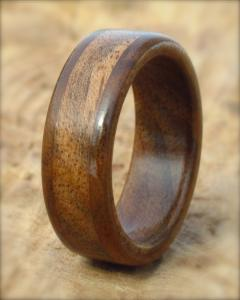 Walnut Wood Ring