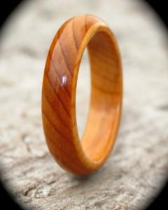 Yew Court Wood Ring