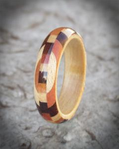 Collection Of Exotic Woods Ring