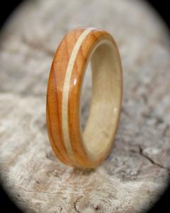 Yew Holly Wooden ring
